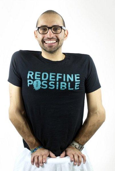 画像1: ☆ME to WE Tシャツ☆ MEN'S: Redefine Possible (1)